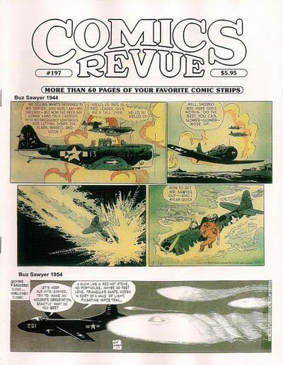 Cover for Comics Revue (Manuscript Press, 1985 series) #197