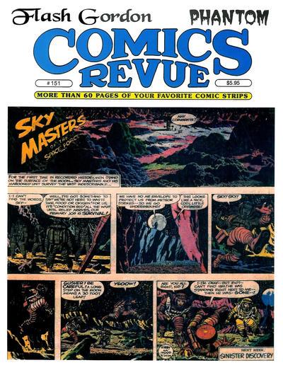 Cover for Comics Revue (Manuscript Press, 1985 series) #151