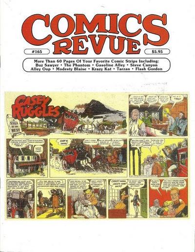 Cover for Comics Revue (Manuscript Press, 1985 series) #165