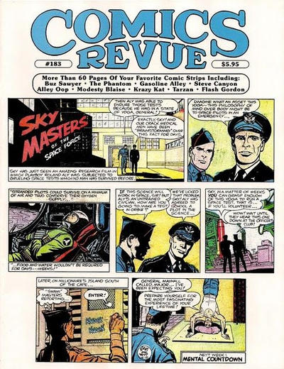 Cover for Comics Revue (Manuscript Press, 1985 series) #183