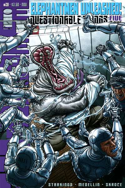 Cover for Elephantmen (Image, 2006 series) #28