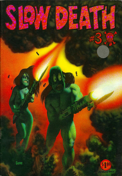 Cover for Slow Death (Last Gasp, 1970 series) #3 [1.00 USD 4th print]