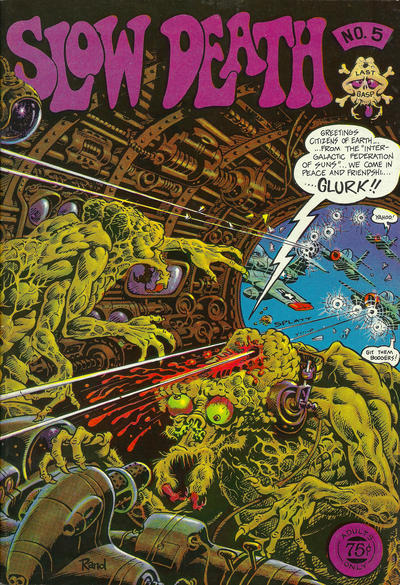 Cover for Slow Death (Last Gasp, 1970 series) #5 [1.00 USD 3rd Print]