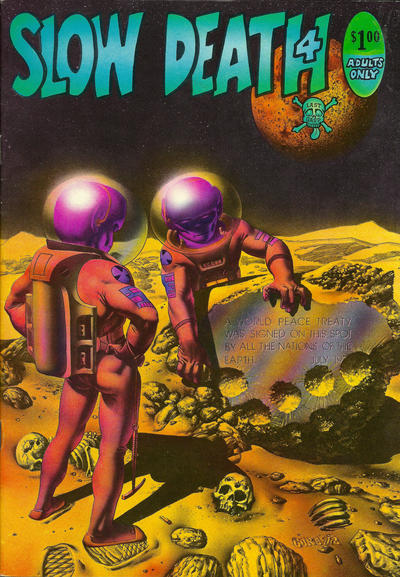 Cover for Slow Death (Last Gasp, 1970 series) #4 [0.50 USD 1st print]