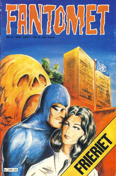 Cover for Fantomet (Semic, 1976 series) #4/1978