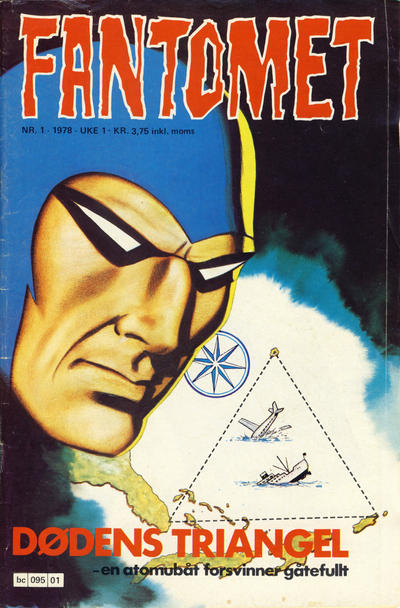 Cover for Fantomet (Semic, 1976 series) #1/1978
