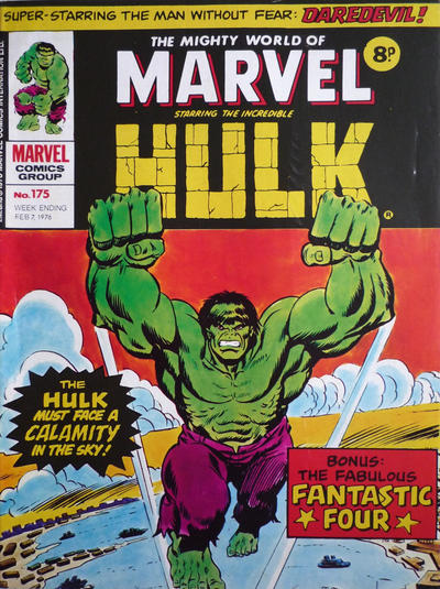 Cover for The Mighty World of Marvel (Marvel UK, 1972 series) #175