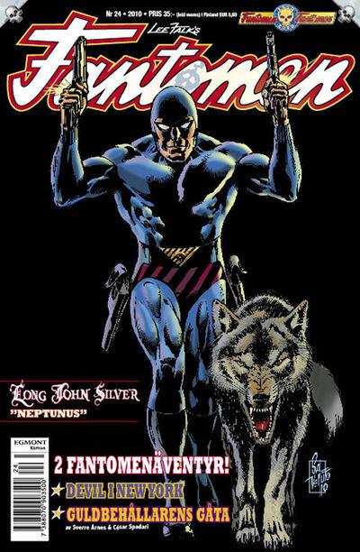 Cover for Fantomen (Egmont, 1997 series) #24/2010