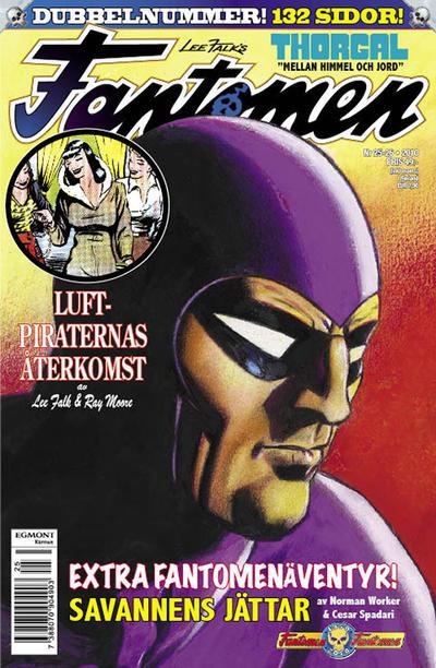 Cover for Fantomen (Egmont, 1997 series) #25-26/2010