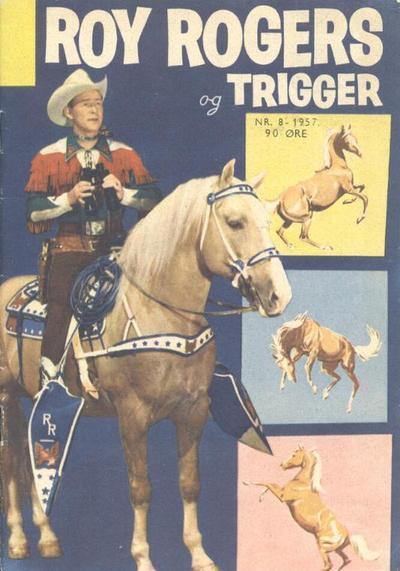 Cover for Roy Rogers (Serieforlaget / Se-Bladene / Stabenfeldt, 1954 series) #8/1957