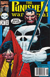 Cover Thumbnail for The Punisher War Journal (1988 series) #43 [Newsstand]