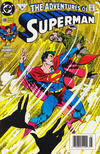 Cover for Adventures of Superman (DC, 1987 series) #490 [Newsstand]