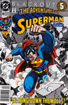 Cover for Adventures of Superman (DC, 1987 series) #485 [Newsstand]