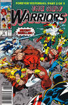 Cover for The New Warriors (Marvel, 1990 series) #12 [Newsstand]