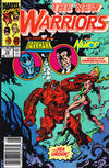 Cover for The New Warriors (Marvel, 1990 series) #14 [Newsstand]