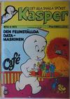 Cover for Kasper (Williams Förlags AB, 1973 series) #8/1973