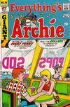 Cover for Everything's Archie (Archie, 1969 series) #28