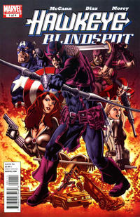 Cover Thumbnail for Hawkeye: Blindspot (Marvel, 2011 series) #1