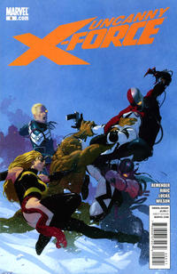 Cover Thumbnail for Uncanny X-Force (Marvel, 2010 series) #5