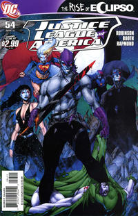 Cover Thumbnail for Justice League of America (DC, 2006 series) #54