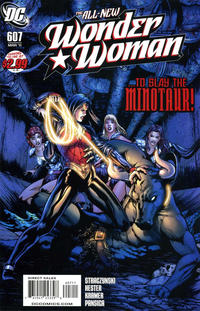 Cover Thumbnail for Wonder Woman (DC, 2006 series) #607