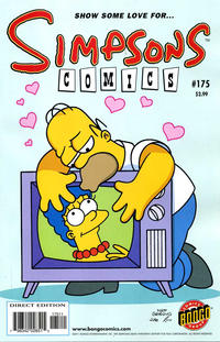Cover Thumbnail for Simpsons Comics (Bongo, 1993 series) #175