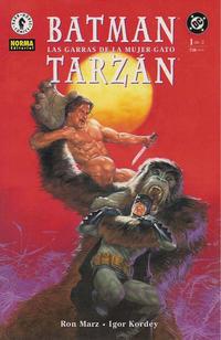 Cover Thumbnail for Batman / Tarzán: Las garras de la Mujer-Gato (NORMA Editorial, 2000 series) #1