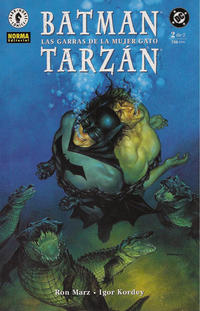 Cover Thumbnail for Batman / Tarzán: Las garras de la Mujer-Gato (NORMA Editorial, 2000 series) #2