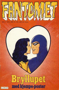 Cover Thumbnail for Fantomet (Semic, 1976 series) #8/1978