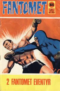 Cover Thumbnail for Fantomet (Romanforlaget, 1966 series) #18/1971