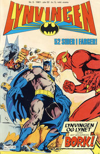 Cover Thumbnail for Lynvingen (Semic, 1977 series) #5/1981