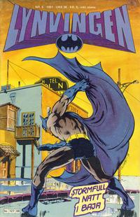 Cover Thumbnail for Lynvingen (Semic, 1977 series) #6/1981
