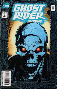 Cover Thumbnail for Ghost Rider 2099 (Marvel, 1994 series) #1 [Foil Enhanced Cover]
