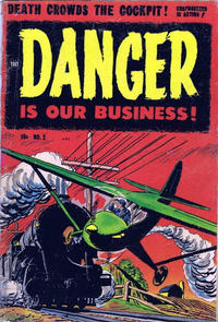 Cover Thumbnail for Danger Is Our Business! (Toby, 1953 series) #2