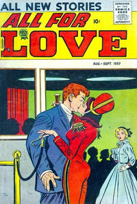 Cover Thumbnail for All for Love (Prize, 1957 series) #v1#3 [3]