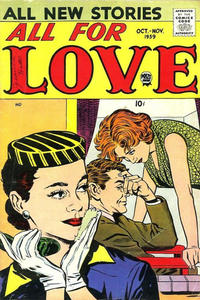 Cover Thumbnail for All for Love (Prize, 1957 series) #v3#3 [16]
