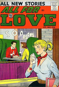 Cover Thumbnail for All for Love (Prize, 1957 series) #v2#1 [7]
