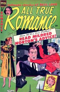 Cover Thumbnail for All True Romance (Comic Media, 1951 series) #16