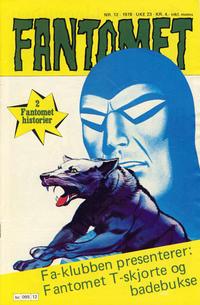 Cover Thumbnail for Fantomet (Semic, 1976 series) #12/1978