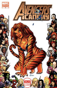 Cover Thumbnail for Avengers Academy (Marvel, 2010 series) #3 [Women of Marvel Frame Variant]