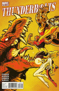 Cover for Thunderbolts (Marvel, 2006 series) #153
