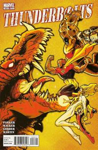 Cover Thumbnail for Thunderbolts (Marvel, 2006 series) #153
