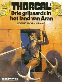 Cover Thumbnail for Thorgal (Le Lombard, 1980 series) #3 - Drie grijsaards in het land van Aran