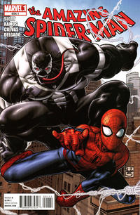 Cover Thumbnail for The Amazing Spider-Man (Marvel, 1999 series) #654.1