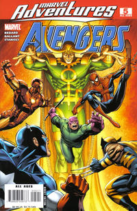 Cover for Marvel Adventures The Avengers (Marvel, 2006 series) #5 [Newsstand Edition]