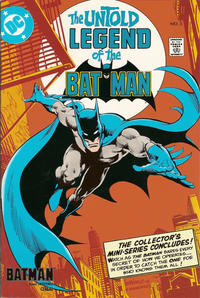 Cover Thumbnail for The Untold Legend of the Batman [Batman Cereal Edition] (DC, 1989 series) #3