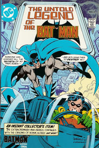 Cover Thumbnail for The Untold Legend of the Batman [Batman Cereal Edition] (DC, 1989 series) #2