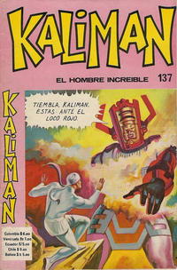 Cover Thumbnail for Kaliman (Editora Cinco, 1976 series) #137