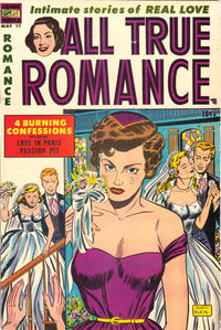 Cover Thumbnail for All True Romance (Comic Media, 1951 series) #17