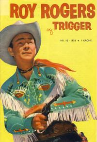 Cover Thumbnail for Roy Rogers (Serieforlaget / Se-Bladene / Stabenfeldt, 1954 series) #10/1958